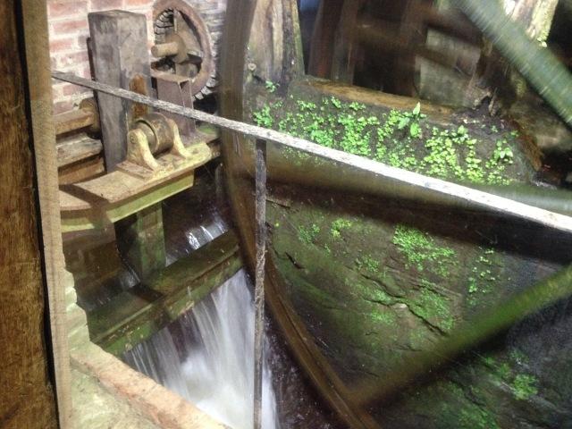 Elstead Mill - with the wheel still working! Taken September 2014